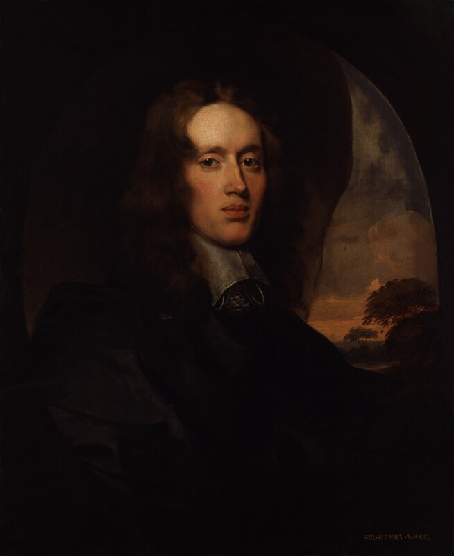 Unknown man, formerly known as Sir Henry Vane the Younger, attributed to Gilbert Soest, circa 1650 - NPG 575 - © National Portrait Gallery, London