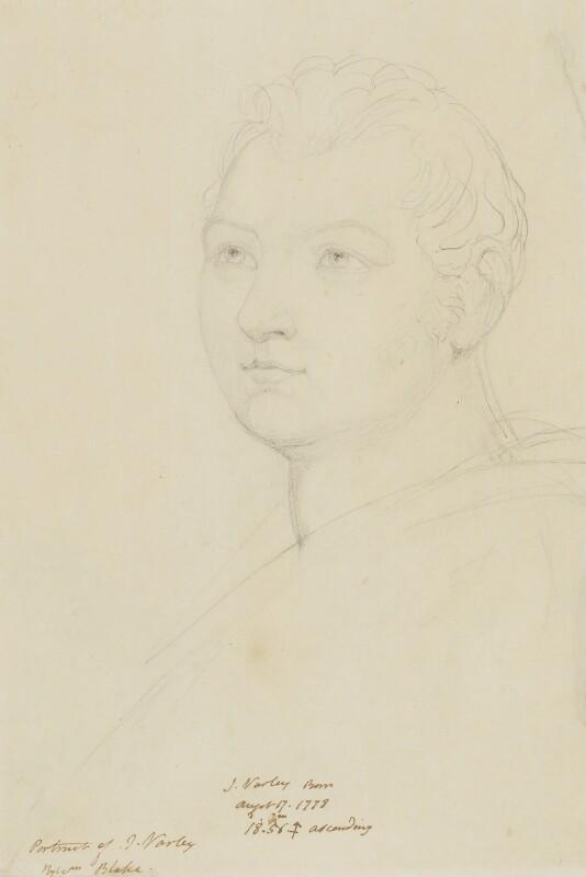 John Varley, by William Blake, circa 1820-1825 -NPG 1194 - © National Portrait Gallery, London