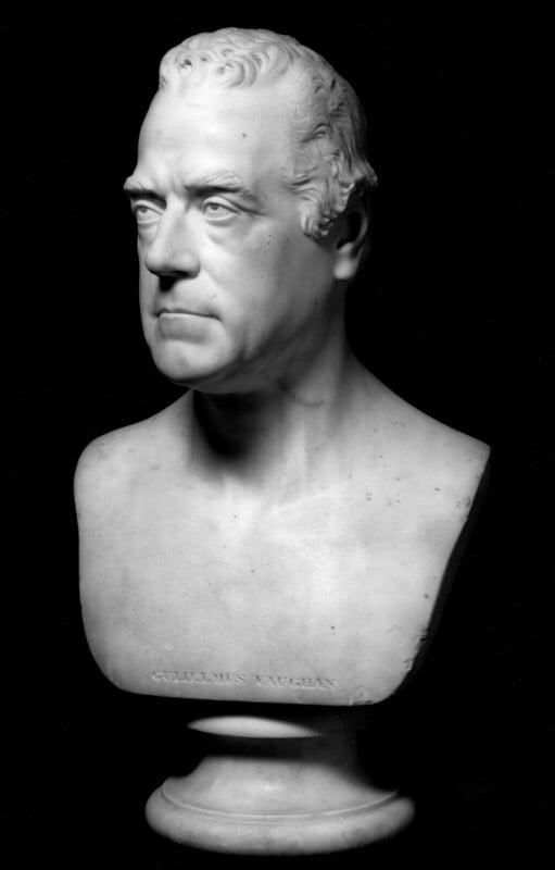 William Vaughan, by Sir Francis Leggatt Chantrey, 1811 - NPG 4934 - © National Portrait Gallery, London