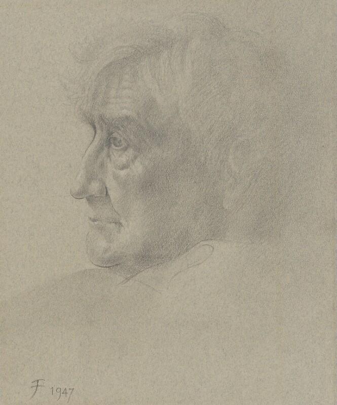 Ralph Vaughan Williams, by Joy Finzi (Joyce Amy), 1947 - NPG 4086 - © Finzi Trust