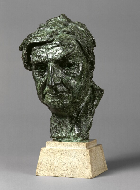 Ralph Vaughan Williams, by Jacob Epstein, 1950 - NPG 4762 - Photograph © National Portrait Gallery, London