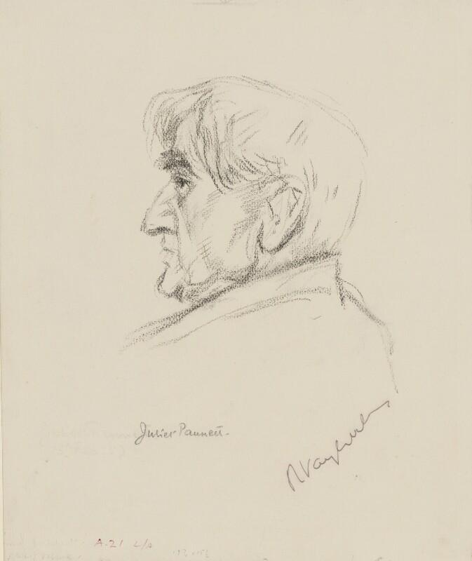 Ralph Vaughan Williams, by Juliet Pannett, 1957 - NPG 4073 - © National Portrait Gallery, London