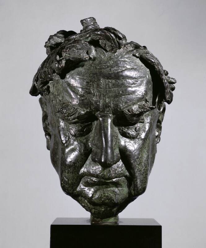 Ralph Vaughan Williams, by David McFall, 1958, based on a work of 1956 - NPG 4088 - Photograph © National Portrait Gallery, London