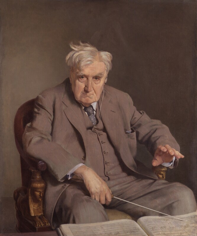 Ralph Vaughan Williams, by Sir Gerald Kelly, 1958-1961 - NPG 4829 - © National Portrait Gallery, London