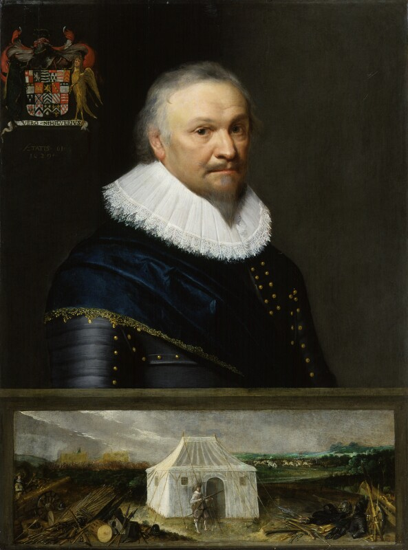 Horace Vere, Baron Vere of Tilbury, by Michiel Jansz. van Miereveldt, 1629 - NPG 818 - © National Portrait Gallery, London