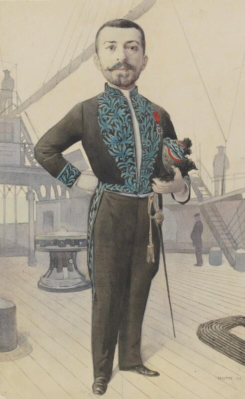 Julien Viaud ('Pierre Lotti'), by Jean Baptiste Guth ('GUTH'), 1895 - NPG 4707(15) - © National Portrait Gallery, London