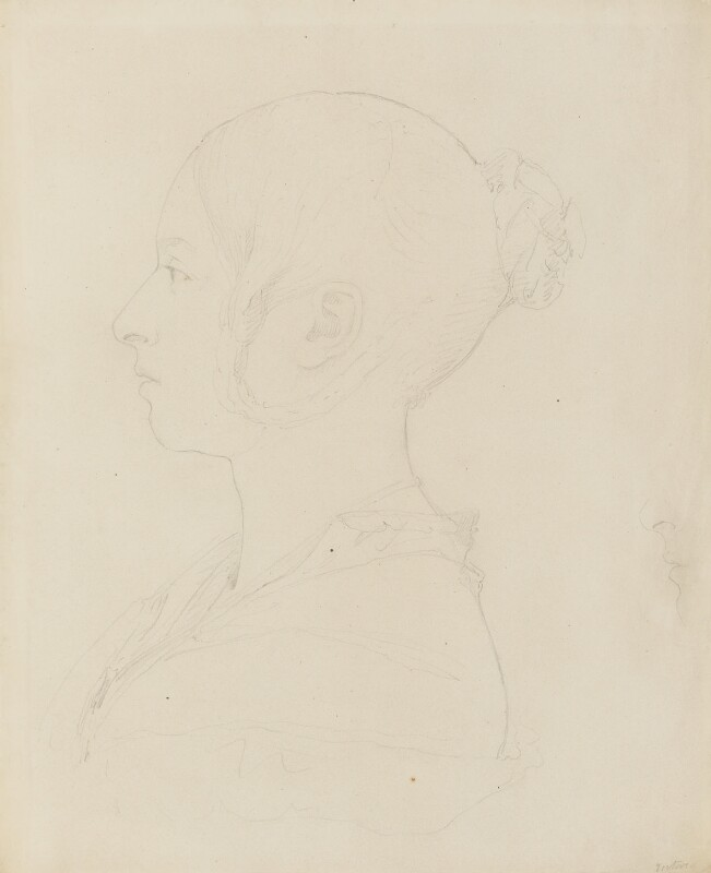 Queen Victoria, by Sir Francis Leggatt Chantrey, circa 1839 - NPG 316a(125) - © National Portrait Gallery, London
