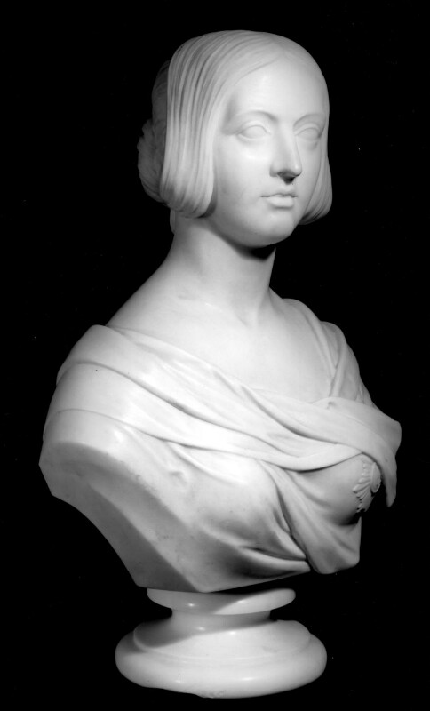 Queen Victoria, by Robert Physick, 1851 - NPG 5164 - © National Portrait Gallery, London