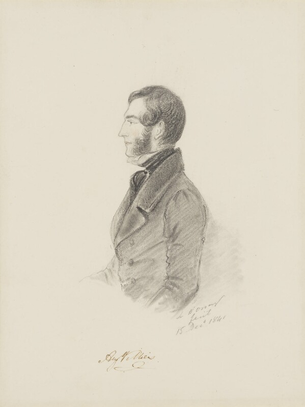 Augustus Villiers, by Alfred, Count D'Orsay, 1841 - NPG 4026(58) - © National Portrait Gallery, London