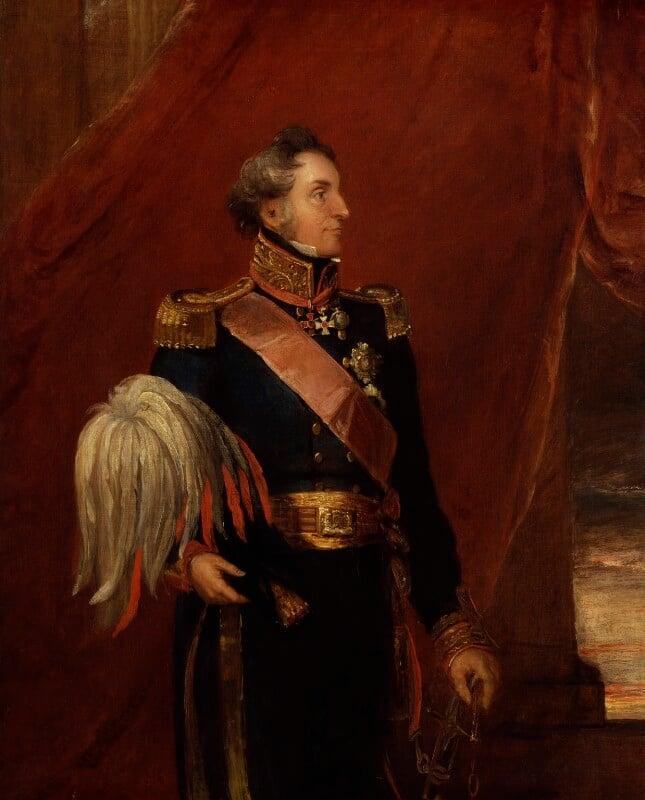 Richard Hussey Vivian, 1st Baron Vivian, by William Salter, 1837-1840 - NPG 3764 - © National Portrait Gallery, London