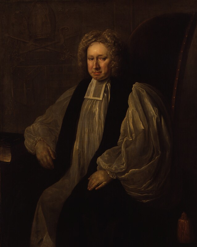 William Wake, by Thomas Hill, circa 1725 - NPG 22 - © National Portrait Gallery, London