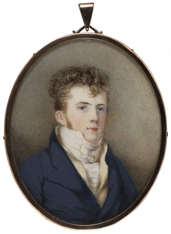 Edward Gibbon Wakefield, by Unknown artist, circa 1820 -NPG 1561 - © National Portrait Gallery, London