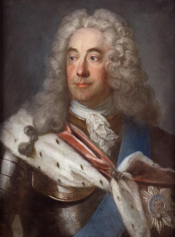 James Waldegrave, 1st Earl Waldegrave, by Gustaf Lundberg, circa 1738-1740 -NPG 1875 - © National Portrait Gallery, London