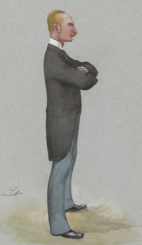 William Hood Walrond, 1st Baron Waleran, by Liborio Prosperi ('Lib'), published in Vanity Fair 17 July 1886 - NPG 3279 - © National Portrait Gallery, London