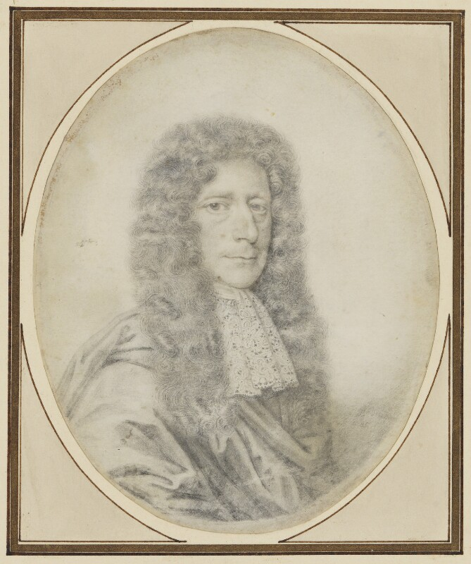 Edmund Waller, by David Loggan, 1685 - NPG 4494 - © National Portrait Gallery, London
