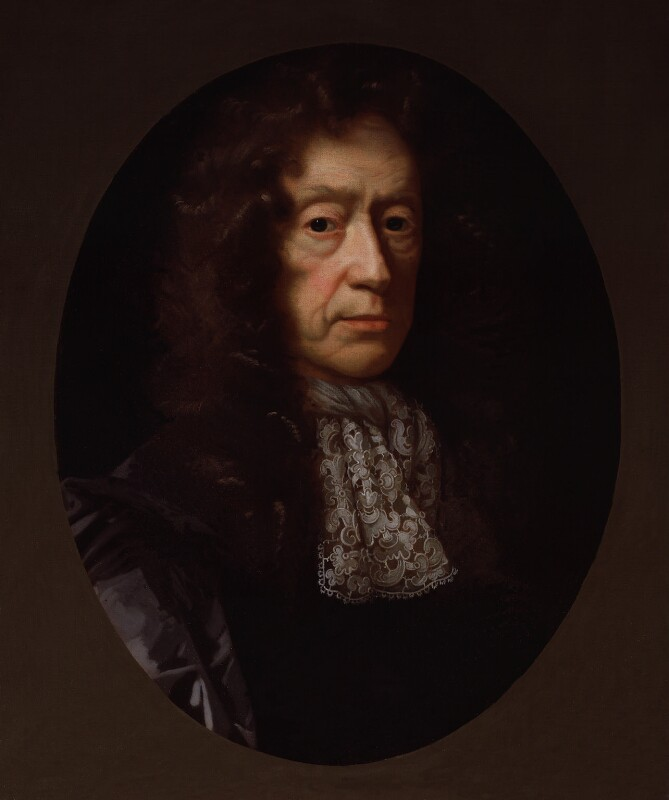 Edmund Waller, after John Riley, based on a work of circa 1685 - NPG 144 - © National Portrait Gallery, London