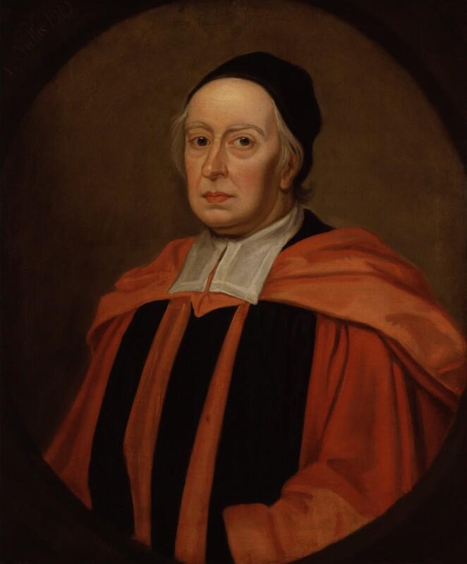 John Wallis, after Sir Godfrey Kneller, Bt, based on a work of 1701 - NPG 578 - © National Portrait Gallery, London