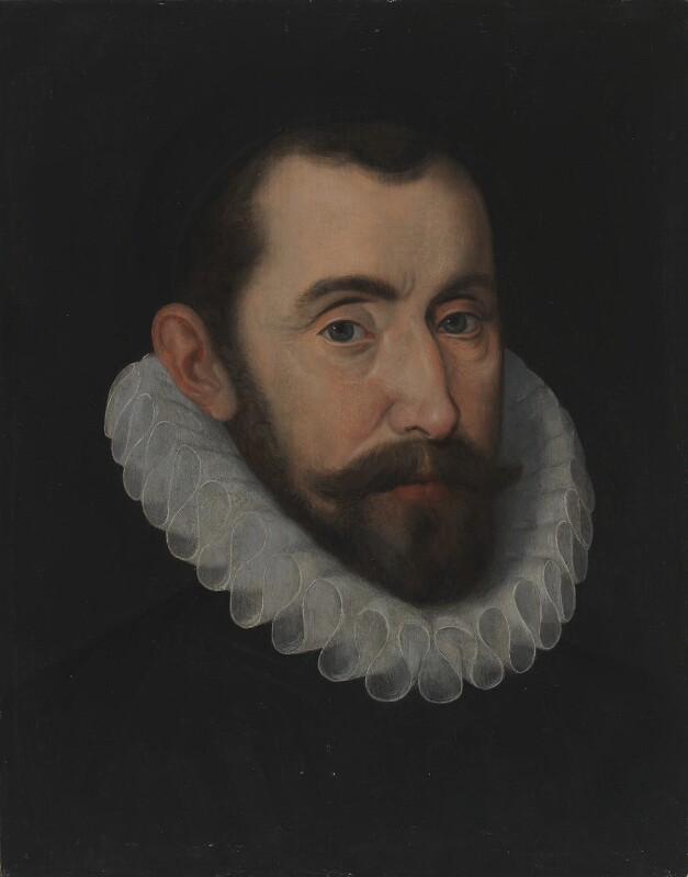 Sir Francis Walsingham, possibly after John De Critz the Elder, 16th century, based on a work of circa 1587 - NPG 1704 - © National Portrait Gallery, London