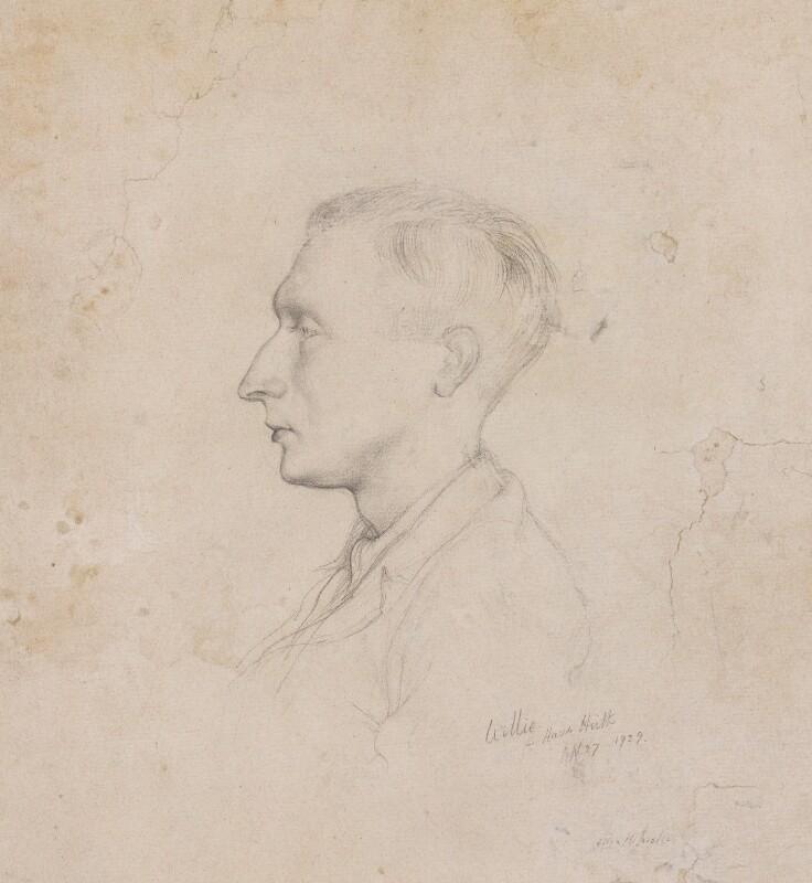 Sir William Turner Walton, by Rex Whistler, 1929 - NPG 4640 - © National Portrait Gallery, London