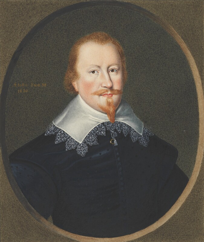 Christopher Wandesforde, attributed to George Perfect Harding, after  Unknown artist, early 19th century, based on a work of after 1630 - NPG 2407 - © National Portrait Gallery, London
