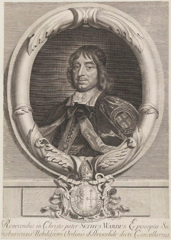 Seth Ward, by David Loggan, 1678 - NPG 644 - © National Portrait Gallery, London