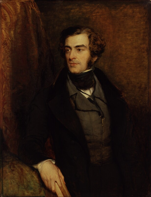 Samuel Warren, attributed to John Linnell, circa 1835-1840 - NPG 1441 - © National Portrait Gallery, London