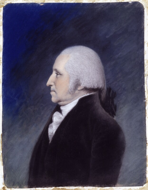 George Washington, by Ellen Sharples, after  James Sharples, 1796-1797 - NPG 174 - © National Portrait Gallery, London