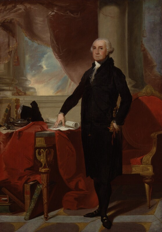 George Washington, after Gilbert Stuart, 1797 - NPG 774 - © National Portrait Gallery, London