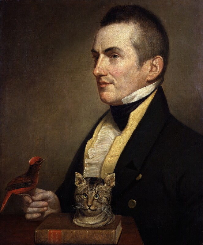 Charles Waterton, by Charles Willson Peale, 1824 - NPG 2014 - © National Portrait Gallery, London