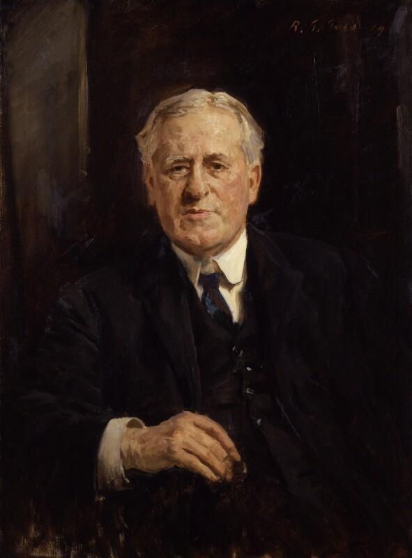 Sir (John) William Watson, by Reginald Grenville Eves, 1929? - NPG 3839 - © National Portrait Gallery, London