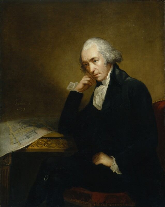 James Watt, by Carl Fredrik von Breda, 1792 - NPG 186a - © National Portrait Gallery, London