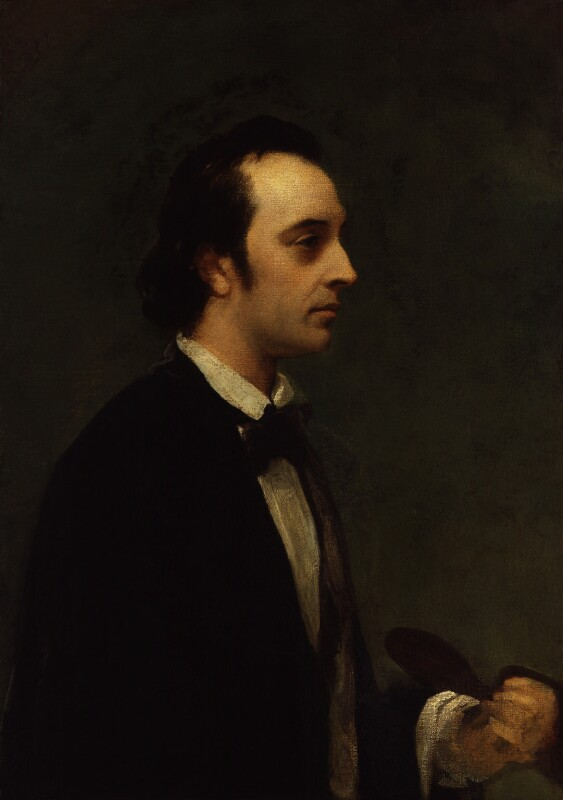 George Frederic Watts, by Henry Wyndham Phillips, circa 1850 -NPG 1378 - © National Portrait Gallery, London
