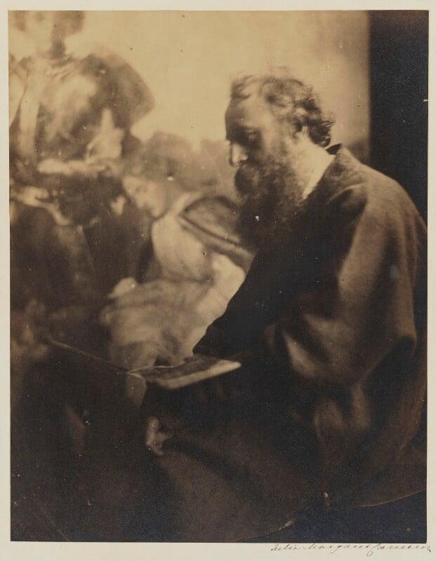 George Frederic Watts, by Julia Margaret Cameron, circa 1865-1869 - NPG P125 - © National Portrait Gallery, London