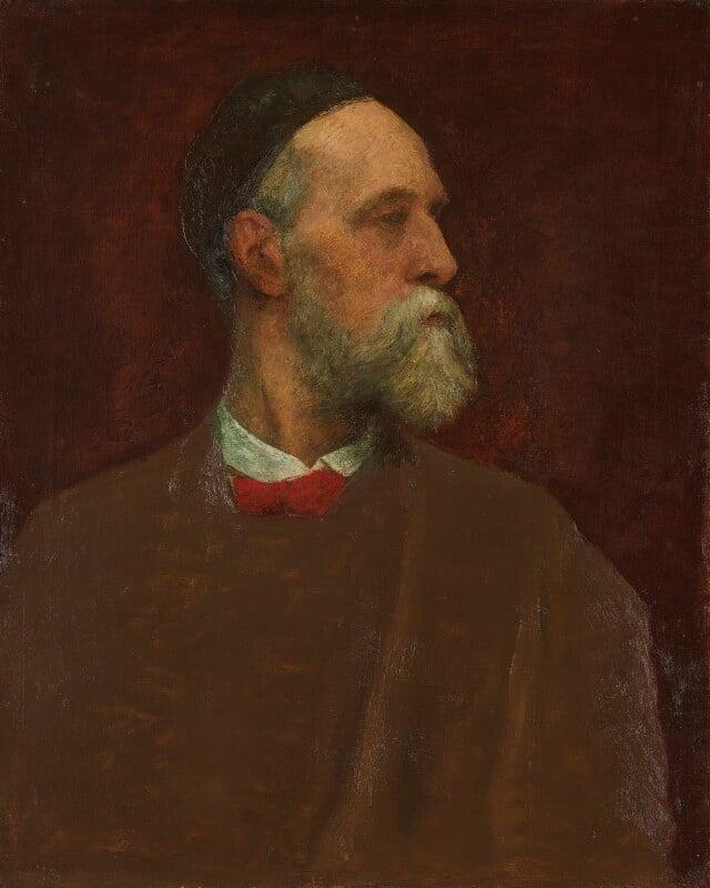 George Frederic Watts, by George Frederic Watts, circa 1879 -NPG 1406 - © National Portrait Gallery, London