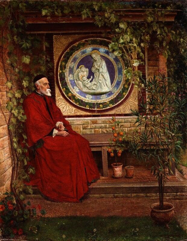George Frederic Watts, by Louis Reid Deuchars; George Andrews, 1899 -NPG 5223 - © National Portrait Gallery, London