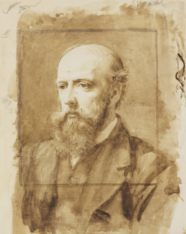 Philip Speakman Webb, by Charles Fairfax Murray, 1873 -NPG 4310 - © National Portrait Gallery, London