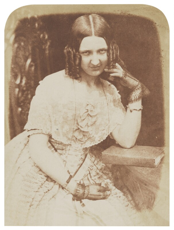 Jane Webster (née Binny), by David Octavius Hill, and  Robert Adamson, 1843-1848 - NPG P6(111) - © National Portrait Gallery, London