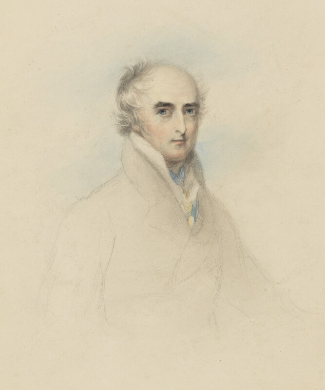 Richard Colley Wellesley, Marquess Wellesley, by John Philip Davis ('Pope' Davis), circa 1815 - NPG 847 - © National Portrait Gallery, London