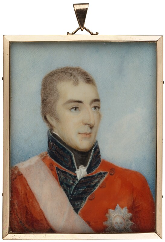 Arthur Wellesley, 1st Duke of Wellington, after Robert Home, 1804 - NPG 741 - © National Portrait Gallery, London