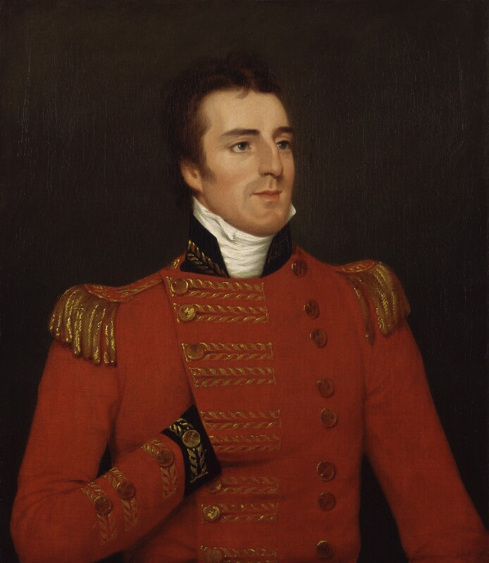 Arthur Wellesley, 1st Duke of Wellington, by Robert Home, 1804 - NPG 1471 - © National Portrait Gallery, London