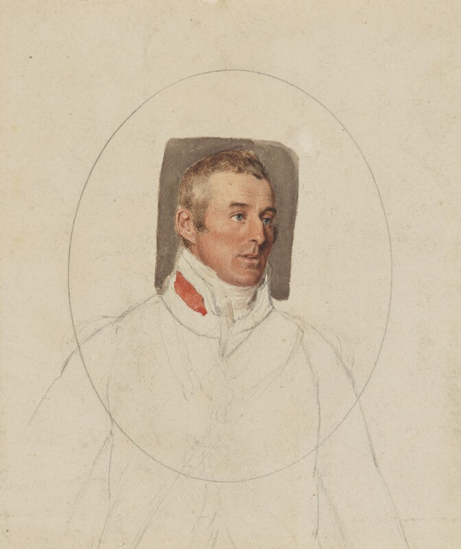 Arthur Wellesley, 1st Duke of Wellington, by Thomas Heaphy, 1813 -NPG 1914(18) - © National Portrait Gallery, London
