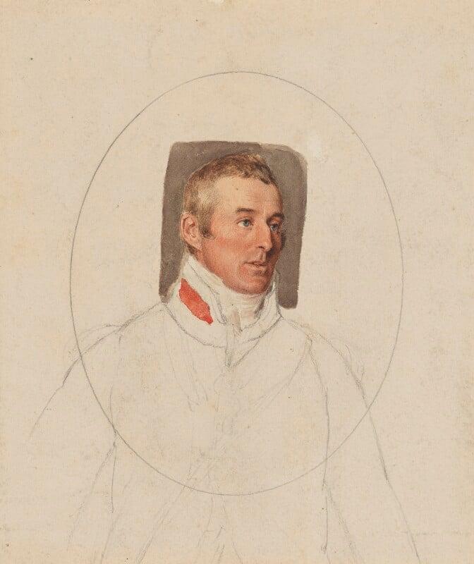 Arthur Wellesley, 1st Duke of Wellington, by Thomas Heaphy, 1813 - NPG 1914(18) - © National Portrait Gallery, London
