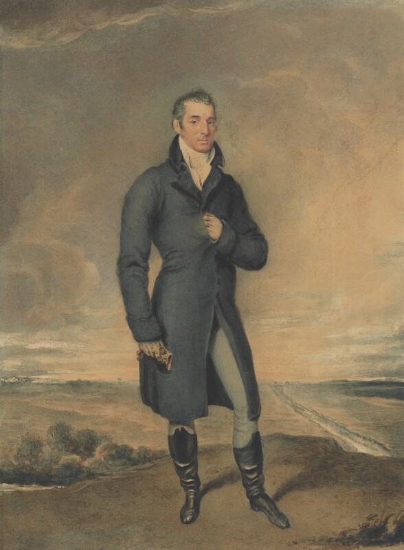 Arthur Wellesley, 1st Duke of Wellington, by Juan Bauzil (or Bauziel), 1812-1816 - NPG 308 - © National Portrait Gallery, London