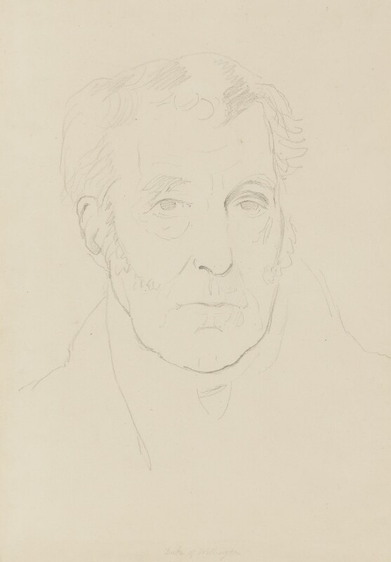 Arthur Wellesley, 1st Duke of Wellington, by Sir Francis Leggatt Chantrey, 1822 -NPG 316a(127) - © National Portrait Gallery, London