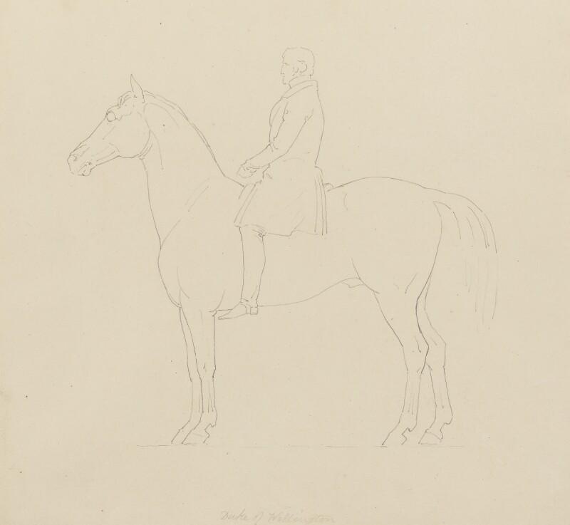 Arthur Wellesley, 1st Duke of Wellington, by Sir Francis Leggatt Chantrey, 1822-1839 - NPG 316a(131) - © National Portrait Gallery, London