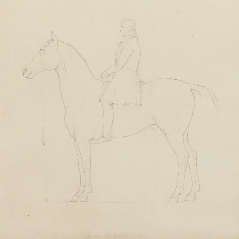 Arthur Wellesley, 1st Duke of Wellington, by Sir Francis Leggatt Chantrey, 1822-1839 - NPG 316a(132) - © National Portrait Gallery, London