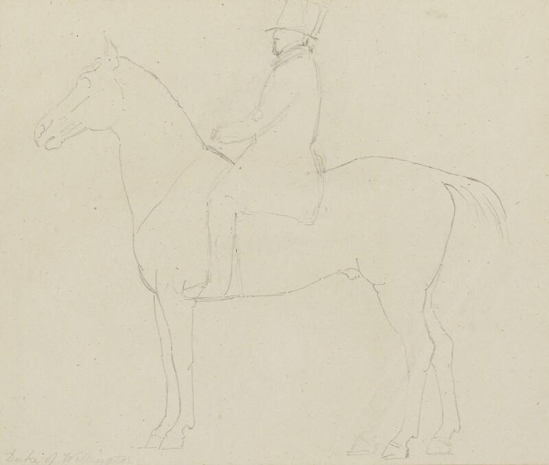 Arthur Wellesley, 1st Duke of Wellington, by Sir Francis Leggatt Chantrey, 1822-1839 - NPG 316a(134) - © National Portrait Gallery, London