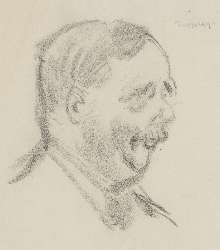 H.G. Wells, by Sir David Low, 1926 or before - NPG 4529(384) - © Solo Syndication Ltd