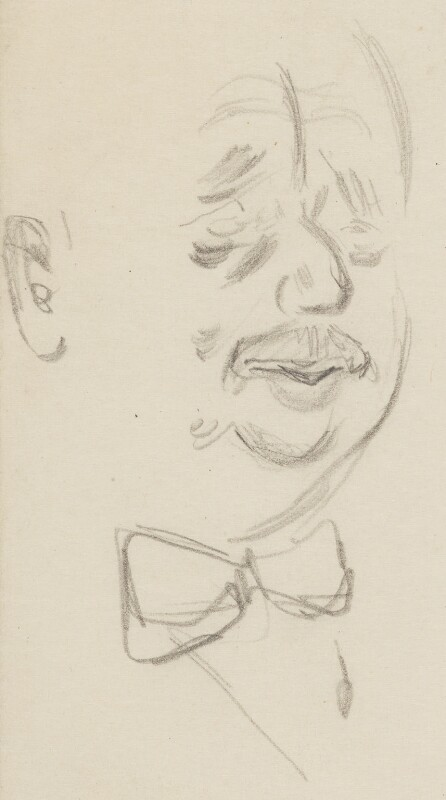 H.G. Wells, by Sir David Low, 1926 or before - NPG 4529(385) - © Solo Syndication Ltd