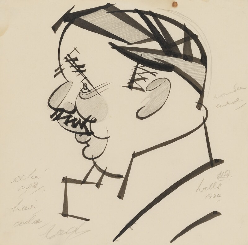 H.G. Wells, by Robert Stewart Sherriffs, 1934 - NPG 5224(2) - © National Portrait Gallery, London